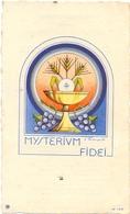 Devotie - Devotion - Communie Communion - Cecile De Schuyter - Brugge Kristus Koning - 1945 - Communion