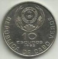 10 Escudos 1982 Cabo Verde - Cape Verde