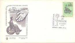 ARGENTINA BUENOS AIRES  FDC   1968 HANDICAP   (NOV180163) - FDC