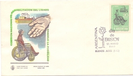 ARGENTINA BUENOS AIRES  FDC   1968 HANDICAP   (NOV180166) - FDC