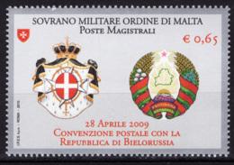 SMOM 2010 Sass.1013 MNH/** VF - Sovrano Militare Ordine Di Malta