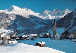 1 AK Österreich Vorarlberg Kleinwalsertal * Blick Auf Mittelberg Im Winter - Mit Hammerspitze Und Schafalpenköpfe * - Kleinwalsertal