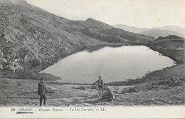 Publicité Pétrole Hann - Les Sites D'Oisans: Grandes Rousses, Le Lac Carrelet - Carte LL N° 20 Non Circulée - Advertising