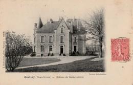 CERIZAY .  Château De Guinebertière. Très Beau Cliché - Cerizay