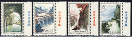 Cina  - 1972  Construction Of Red Flag Canal - Excellent Wording Edge Sheet Stamps MNH** (read Descriptions) Two Photos - 1949 - ... Volksrepublik