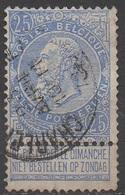 BELGIQUE __ N°60__OBL VOIR SCAN - 1893-1900 Fine Barbe