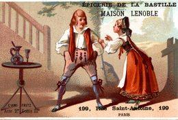 CHROMO  EPICERIE DE LA BASTILLE  MAISON LENOBLE PARIS - Thé & Café