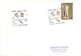 ROMA LIBERATION 1975 COVER   (NOV180167) - Militaria