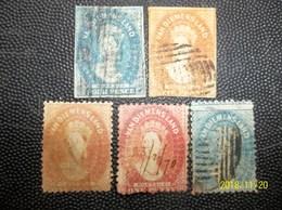 Tasmania: 5 Classic Stamps In Used (#KK11) - Oblitérés