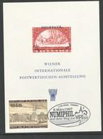 Österreich 1997: GS/ Block WIPA 1965 Pfr. Kombi Mit WIPA 1981 - Numiphil 1997 SStp. - 1991-00 Ungebraucht