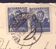 Carte à Vue - Fuhrer Als Tierfreund- 1938 - Wien - 1918-1945 1. Republik