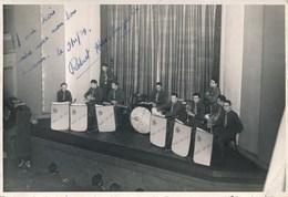 Orchestre Militaire 5ème Régiment D'Infanterie - Navarre Sans Peur - (1939 ? Voir Dédicace) - Guerra, Militari