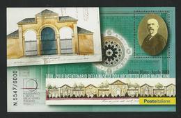 2018 - Folder Con Foglietto Erinnofilo - Carlo MACIACHINI Architetto - Numerato ** - 6. 1946-.. Republik