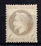 France YT N° 27 Neuf *. Gomme D'origine. B/TB. A Saisir! - 1863-1870 Napoléon III Lauré