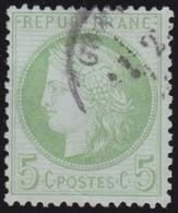 France   .   Yvert    .    53       .      O      .     Oblitéré - 1871-1875 Ceres