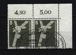 BUND - Mi-Nr. 846 Im Paar Rechte Obere Ecke - Industrie Und Technik Gestempelt - Gebraucht