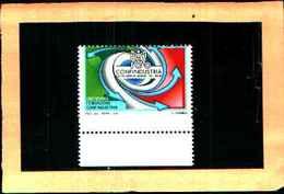 73647)-2009 Italia Repubblica -1.40€ CONFINDUSTRIA - Varietà Dentellatura Spostata  MNH** 2010 - 6. 1946-.. República