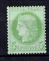 France YT N° 53 Neuf *. Gomme D'origine. B/TB. A Saisir! - 1871-1875 Cérès
