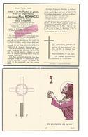 D 424. JEAN KONINCKX - Oudstrijder-Oorlogsinvalide 14/18 -ST-TRUIDEN 1889 / 1955 - Images Religieuses