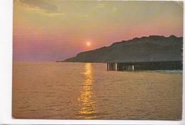 Denmark, Sunset Over The North Sea, 1971 Used Postcard [22306] - Denmark