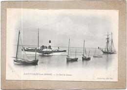 SAINT VALERY SUR SOMME - 80 -  CPA DOS SIMPLE - La Baie De Somme - Vendue Dans L'état  -  DELC6** -- - Saint Valery Sur Somme