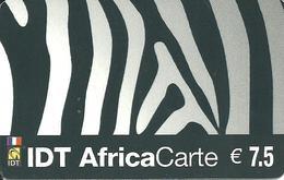 France: IDT Africa Carte 05.06 - Frankreich