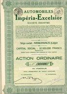 AUTOMOBILES  IMPERIA EXCELSIOR - Automobile