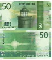 NORWAY  Just Issued   New Attractive  50 Kr  2018    UNC - Noorwegen