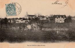 VUE DE CERIZAY .  - Vue Générale Carte Rare. - Cerizay