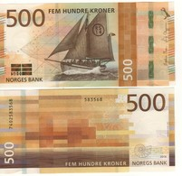 NORWAY  Just Issued   New Attractive  500 Kr  2018    UNC - Norvège