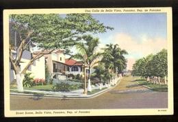 PANAMA - ANNI 50 - UNA CALLE DE BELLA VISTA - Panama