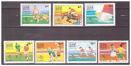 Guinee-Bissau 1984 Olympics Soccer Sailing Hockey Boxing MNH - Zomer 1984: Los Angeles