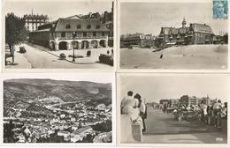 LOT   60 CARTES 38CPSM NOIRES ET BLANCS ET 22 CARTES PHOTO - Postcards
