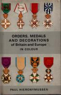 ORDERS MEDALS DECORATIONS OF BRITAIN AND EUROPE GUIDE COLLECTION ORDRES MEDAILLES - Medaillen & Ehrenzeichen
