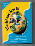 CATALOGUE KINDER 448 Pages  Edition 1998-1999 Depuis 1979 - Kinder & Diddl