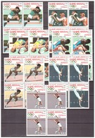 Guinee-Bissau 1989 Olympics Boxing Athletics Gymnastics  MNH - Zomer 1992: Barcelona