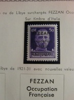 FEZZAN COLLECTION TIMBRES NEUFS*/** TTB /SUP - Neufs