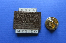 Pin's, Ville,Village, MEXICO, Maya - Cities