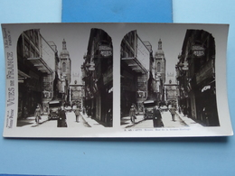 ROUEN : Rue De La Grosse-Horloge : S. 45 - 4175 ( Maison De La Bonne Presse VUES De FRANCE ) Stereo Photo ! - Photos Stéréoscopiques