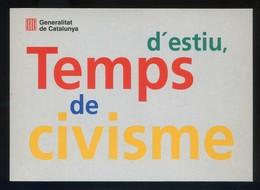 *Temps D'estiu, Temps De Civisme* Ed. Generalitat. Lote De 7 Postales Diferentes. Nuevas - Eventos
