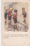 POULBOT SOUTIEN FACTERNEL DES PTT  IL VIENDRA PAS JOUER AUJOURD HUI LE GOSSE DU FACTEUR...   ACHAT IMMEDIAT - Poulbot, F.