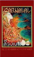 POSTAL CARTEL DEL CARNAVAL DE AGUILAS 2003, MURCIA, ESPAÑA. (331) - Carnaval