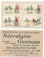 Névralgine Genneau - Histoire Sans Paroles - Le Premier Cigare - Chromos