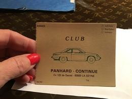 Club Panhard Continue La SEYNE Sur Mer   Carte Club - La Seyne-sur-Mer