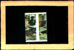 73652)- Italia Repubblica -1987 ITALIA LOTTA CONTRO L'ALCOLISMO MNH**- Varietà Dentellatura Spostata  MNH** - 6. 1946-.. Republik