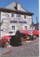 CPM 15 SAINT URCIZE ... Place De L'Afrique . Le Café Albert Gaillard (Livenais VE100812) - Autres Communes
