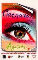 POSTAL CARTEL DEL CARNAVAL DE AGUILAS 2011, MURCIA, ESPAÑA. (330) - Carnaval