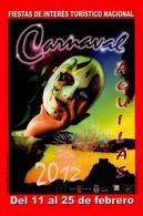 POSTAL CARTEL DEL CARNAVAL DE AGUILAS 2012, MURCIA, ESPAÑA. (333) - Carnaval