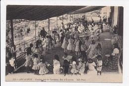 CPA 33 ARCACHON Casino Sur La Terrasse Bal D'enfants - Arcachon