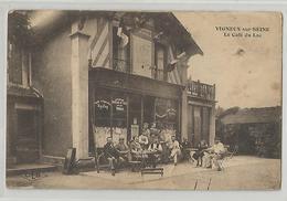 91 Essonne Vigneux Sur Seine Le Café Du Lac Animée - Vigneux Sur Seine